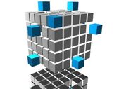 Image. 3d cube 04 — Stock Photo