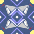 Seamless ornament  in color  08 — Imagen vectorial