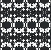 Ornament zwarte 01 — Stockvector