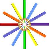 ручка задать цвет 06 — Cтоковый вектор