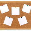 Royalty-Free Stock Photo: Cork board