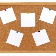 Stock Photo: Cork board