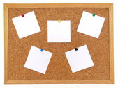 Cork board — Foto Stock