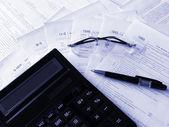 Taxes forms — Zdjęcie stockowe