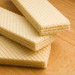 Three wafers - Foto Stock