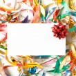 Blank gift card — Stock Photo #1082203