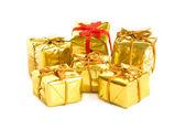 Altın hediye — Stok fotoğraf