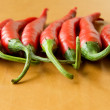 Royalty-Free Stock Photo: Red hot chili peppers