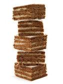 Chocolate cakes — Stock Photo