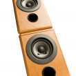 Royalty-Free Stock Photo: Music speakers