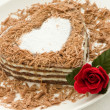 Heart-shaped cake - Lizenzfreies Foto