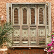 Stock Photo: Old orient doors