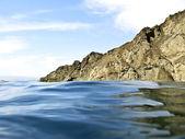 Rock at sea — Stock Photo
