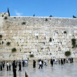 Western wall in Jerusalem — Stock Photo