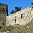 Genoese fortress in Theodosia — Stock Photo