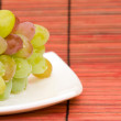 Royalty-Free Stock Photo: Grape on plate