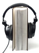 Audio book — Stock Photo