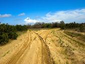 Camino arenoso — Foto de Stock