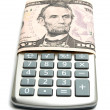 Money calculator — Stock Photo