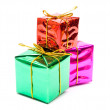 Colour gift boxes — Stock Photo #1198312