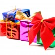Colour gift boxes — Stock Photo #1198315
