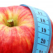 Royalty-Free Stock Photo: Apple with Measure