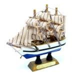 Frigate Ship Model — Stock Photo