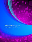 Blue_and_pink_abstract_background — Stock Vector