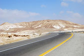 Desert road — Stockfoto