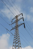 Electrical pylon — Stock Photo