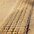 Tyre trace — Stock Photo #1067204