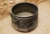 Ancient bucket — Stock Photo