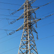 Electrical tower and wires — Stock Photo