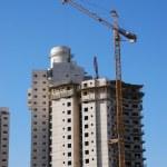 Under construction house — Stock Photo