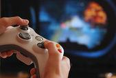 Počítačová hra — Stock fotografie