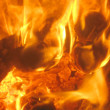 Royalty-Free Stock Photo: Burning fire and charcoal, may be used a