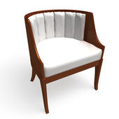 Chair on a white background — Stock Photo