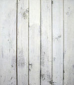 White painted old wooden wall — Stock Photo
