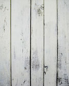 White painted wooden wall — Stock Photo