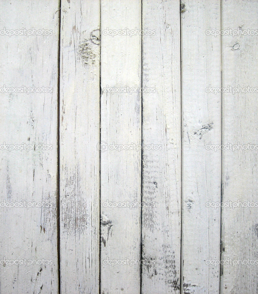 White Wood Wall : White painted old wooden wall — Stock Photo © sommersby #1027904