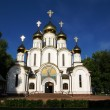 Orthodox church in nunnery — Stock Photo