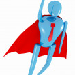 Royalty-Free Stock Photo: Superhero