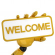 Welcome — Stock Photo #1048297