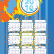 Royalty-Free Stock Vector Image: Calendar 2010