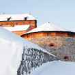 Medieval castle in Finland — Stock Photo