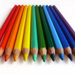 Royalty-Free Stock Photo: Rainbow pencils
