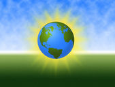 World Globe — Stockfoto