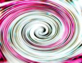 Ricciolo rosa e bianco — Foto Stock