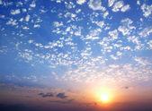 Pôr do sol — Fotografia Stock