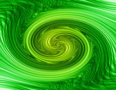 Gedraaide groen — Stockfoto